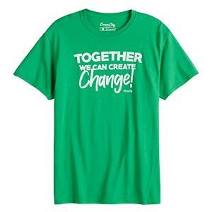 Men's Cream City Together We Can Create Change Tee