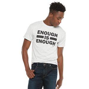Men's Cream City Enough Is Enough Tee