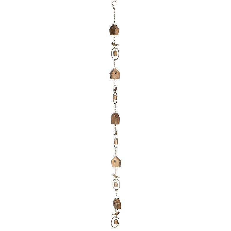 House Rain Chain Indoor / Outdoor Wall Decor 2-piece Set