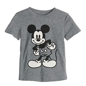 Disney's Mickey Mouse Toddler Boy Heathered Softest Graphic Tee by Jumping Beans®