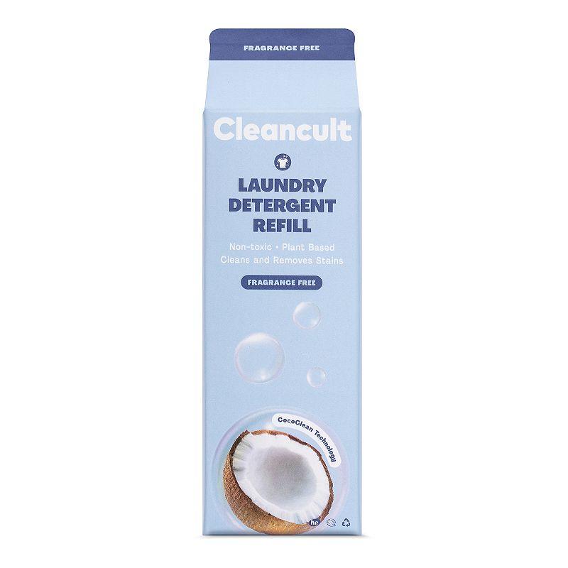 cleancult Liquid Laundry Detergent Refill - Fragrance Free, 32Oz