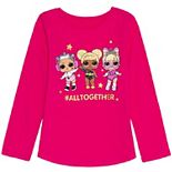 Girls 4-12 Jumping Beans® L.O.L. Surprise! Glitter Graphic Tee
