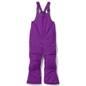 Kids 7-20 Lands' End Squall Waterproof Iron Knee Bib Snow Pants in Regular, Slim & Husky
