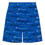 Boys 8-20 Champion® Multi-Color Script Mesh Shorts