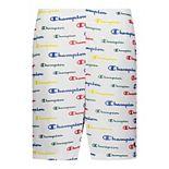 Boys 8-20 Champion® Multi-Color Script Mesh Shorts