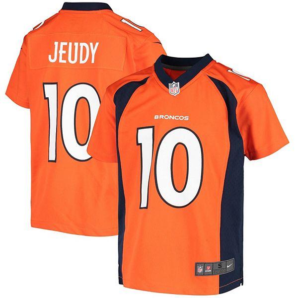 Youth Nike Jerry Jeudy Orange Denver Broncos 2020 Game Jersey