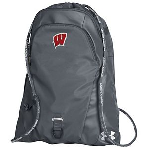 Under Armour Wisconsin Badgers Undeniable Drawstring Backpack
