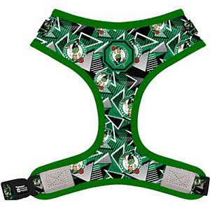 Fresh Pawz Kelly Green Boston Celtics Adjustable Mesh Pet Harness