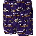 Men's Concepts Sport Purple Baltimore Ravens Zest All Over Print Boxer Shorts
