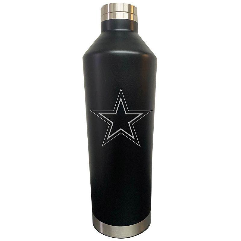 Black Dallas Cowboys 26oz. Primary Logo Water Bottle