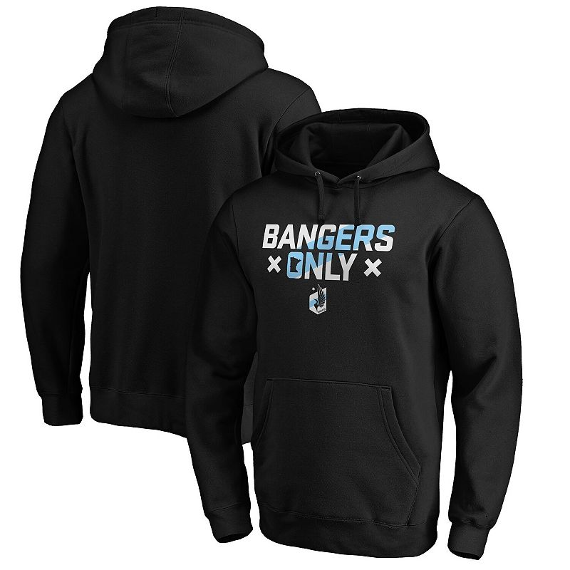Men's Fanatics Branded Black Minnesota United FC Bangers Only Pullover Hoodie, Size: 2XL