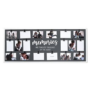 New View Gifts & Accessories 18 Opening Memories Clip Collage Photo Display