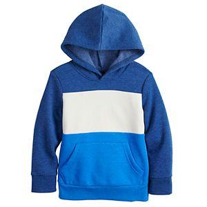 Toddler Boy Jumping Beans® Colorblocked Fleece Pullover Sweatshirt