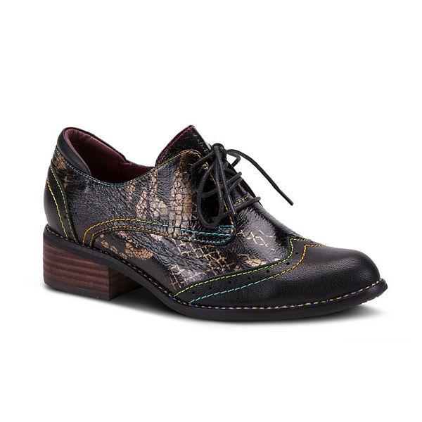L'Artiste By Spring Step Elvie Women's Wingtip Oxford Shoes