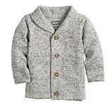 Toddler Boy Jumping Beans® Sweater Fleece Shawl Cardigan Sweater