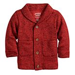 Toddler Boy Jumping Beans® Sweater Fleece Shawl Cardigan Sweater