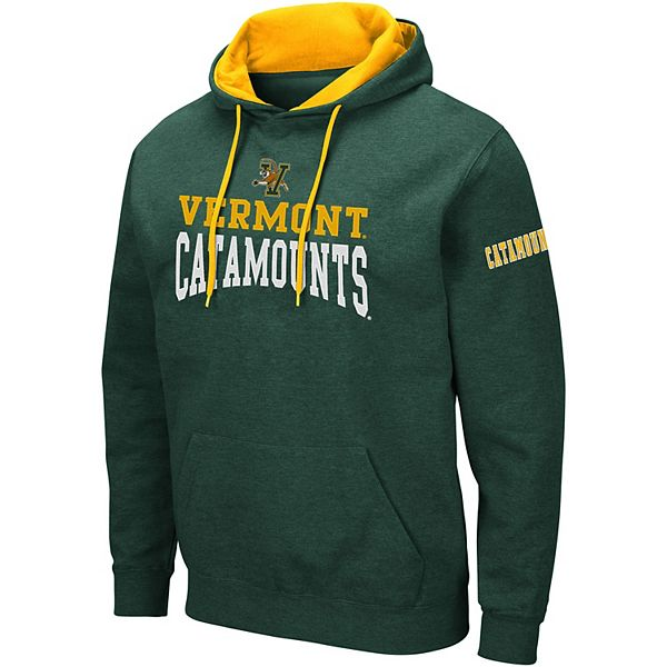 Men's Colosseum Vermont Catamounts Volume Fleece Hoodie