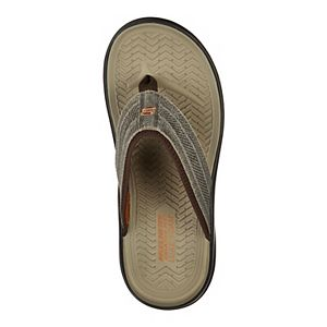 Skechers Relaxed Fit® Sargo Point Vista Men's Thong Sandals