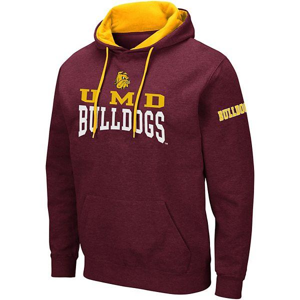 Men's Colosseum Minnesota - Duluth Bulldogs Volume Fleece Hoodie