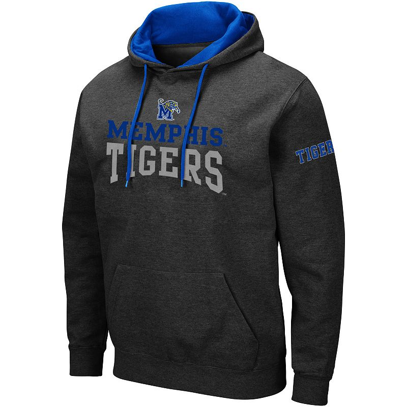 Men's Colosseum Memphis Tigers Volume Hoodie, Size: XL, Grey
