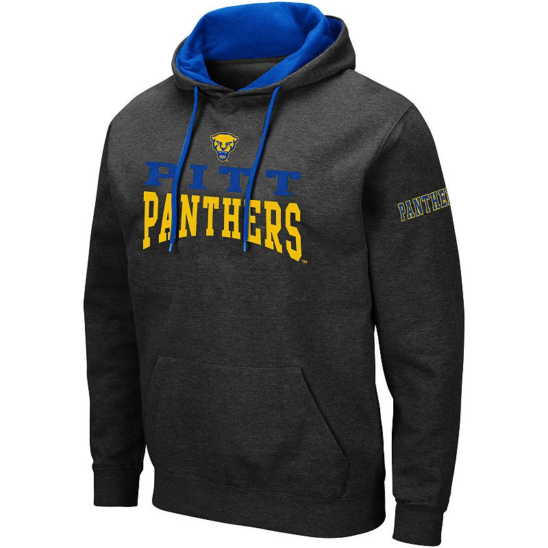 Men's Colosseum Pitt Panthers Volume Hoodie, Size: XXL, Grey