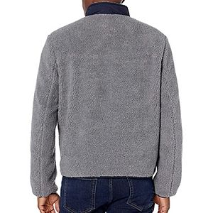 Men's G.H. Bass All-Over Sherpa Stand-Collar Jacket