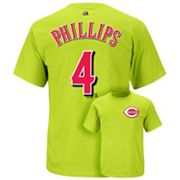 Majestic Cincinnati Reds Brandon Phillips Tee