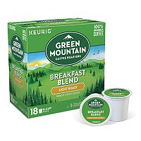 Keurig® K-Cup® Pod Mountain Coffee Breakfast Blend Light Roast Coffee - 18-pk.