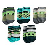 Boys Star Wars The Mandalorian The Child aka Baby Yoda 5-Pack Socks