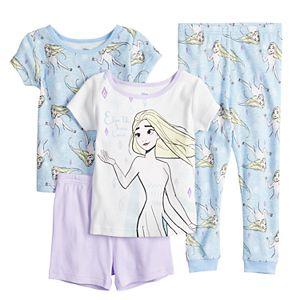 Disney's Frozen 2 Toddler Girl Elsa's Snow Queen 4-Piece Pajama Set