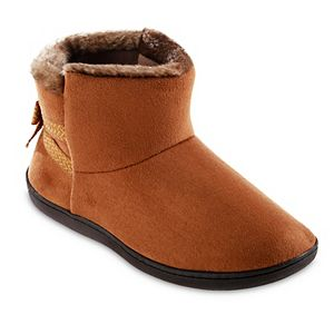 Women's isotoner Microsuede Nelly Boot Slippers