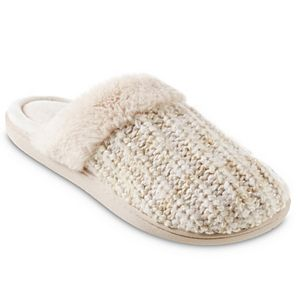 Women's isotoner Sweater Knit Shelia Clog Slippers