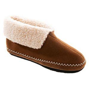 Women's isotoner Women Genuine Suede Boot Slippers