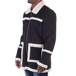 Men's XRAY Faux-Sherpa Jacket