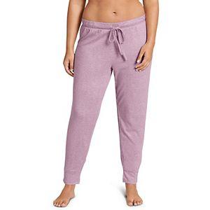 Plus Size Jockey® Ribbed Banded-Hem Pajama Pants