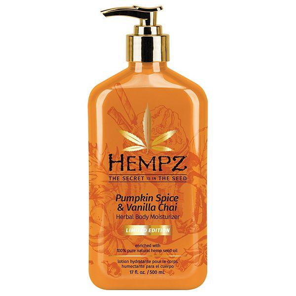 Hempz Limited-Edition Pumpkin Spice & Vanilla Chai Herbal Body Moisturizer