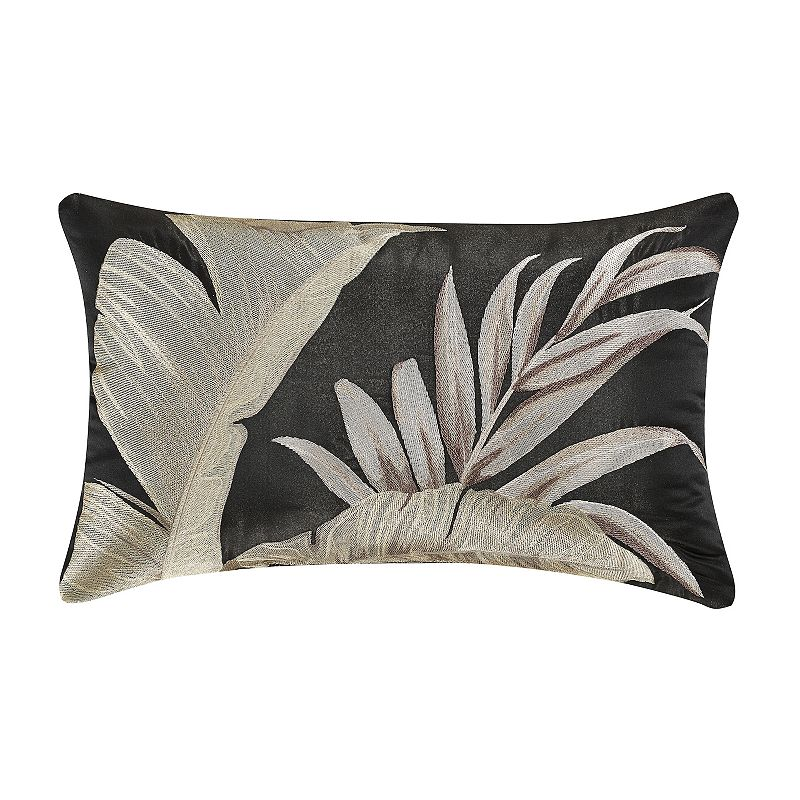 37 West Martina Black Boudoir Throw Pillow. Fits All