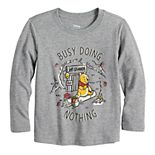"Disney's Winnie the Pooh Toddler Boy ""Bust Doing Nothing"" Graphic Tee by Jumping Beans®"