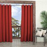 Waverly 1-Panel Sun n Shade Key Largo Indoor Outdoor Room Darkening Curtain