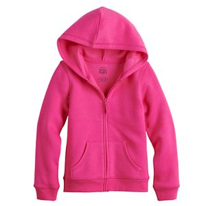 Toddler Girl Jumping Beans® Fleece Zip-Up Hoodie