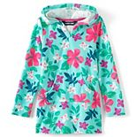 Girls 7-16 Lands' End Hooded Swim Cover-up