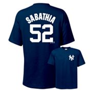 Majestic New York Yankees CC Sabathia Tee