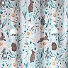 Celebrate Easter Together Bunnies Shower Curtain