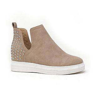 Yoki Demian Women's Hidden Wedge Sneakers