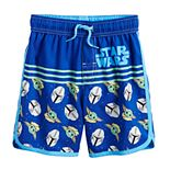 Toddler Boy Star Wars The Mandalorian The Child Swim Trunks