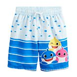 Toddler Boy Baby Shark Swim Trunks