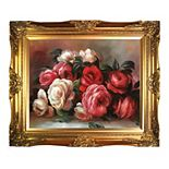 La Pastiche Discarded Roses by Pierre-Auguste Renoir Framed Wall Art