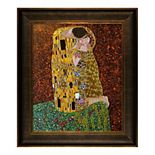 "La Pastiche The Kiss by Gustav Klimt 30.5"" Framed Wall Art"
