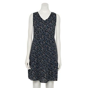 Petite Sonoma Goods For Life® Sleeveless V-Neck Tiered Dress