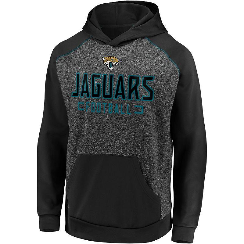 Men's Fanatics Jacksonville Jaguars Chiller Fleece Hoodie. Size: Medium. Grey